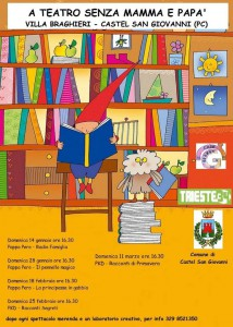 Teatro e laboratori per bambini Castel San Giovanni